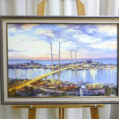 Косенко В.В. «Золотой мост», х/м, 40х60