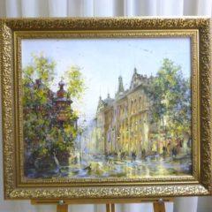 Косенко В.В.»Светланская», х/м, 50х60