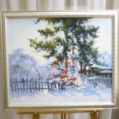 Косенко В.В. «Морозное утро», х/м, 50х60
