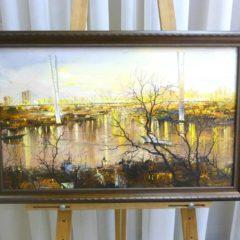 Редозубов Ю.Ю. «У Золотого моста», х/м, 37х62