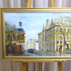 Редозубов Ю.Ю. «На Светланской», х/м, 40х61