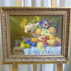 А. Евдакимова «Натюрморт», хм, 30х39