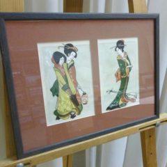 А.Хафизова «Три девушки», бумсм.техн., в оф. 26х35