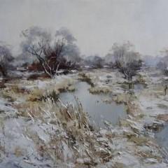 Косенко В.В. Первый снег, 40х60, х.м