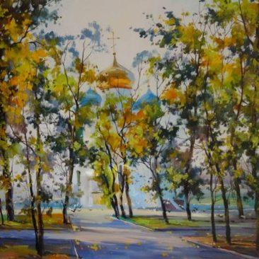 Косенко В.В. Покровский храм, 40х60, х.м