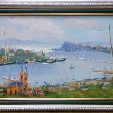 Помазенко А.Н.Владивосток орг.м.27х47см