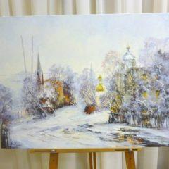Косенко В.В. «Пушкинская», х/м, 60х80