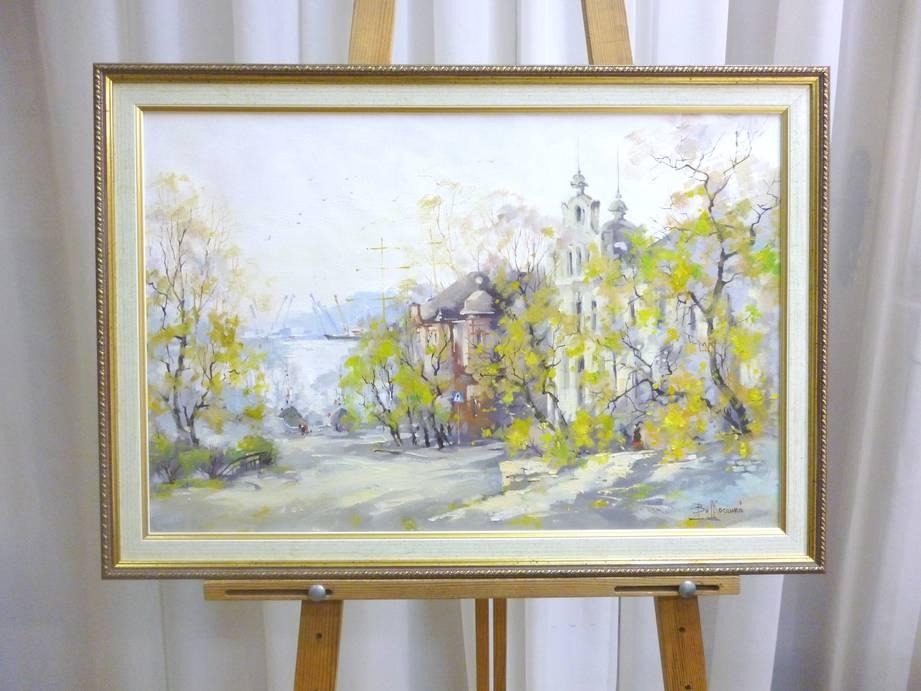 Косенко В.В. «Светланская весной», х/м, 40х60