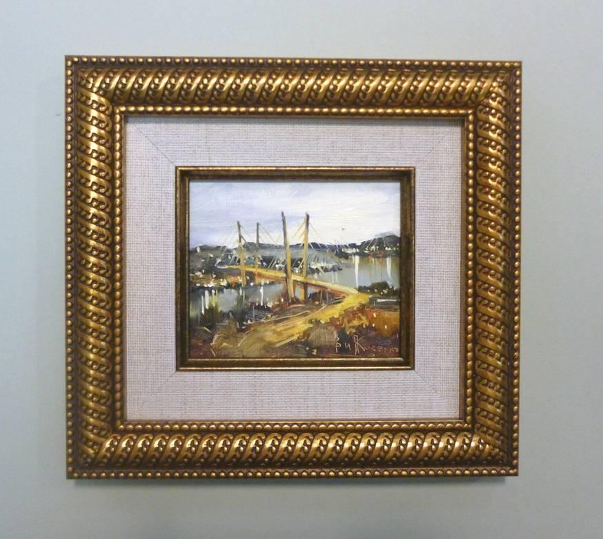 Косенко В.В. «Мост», орг/м, 8х10