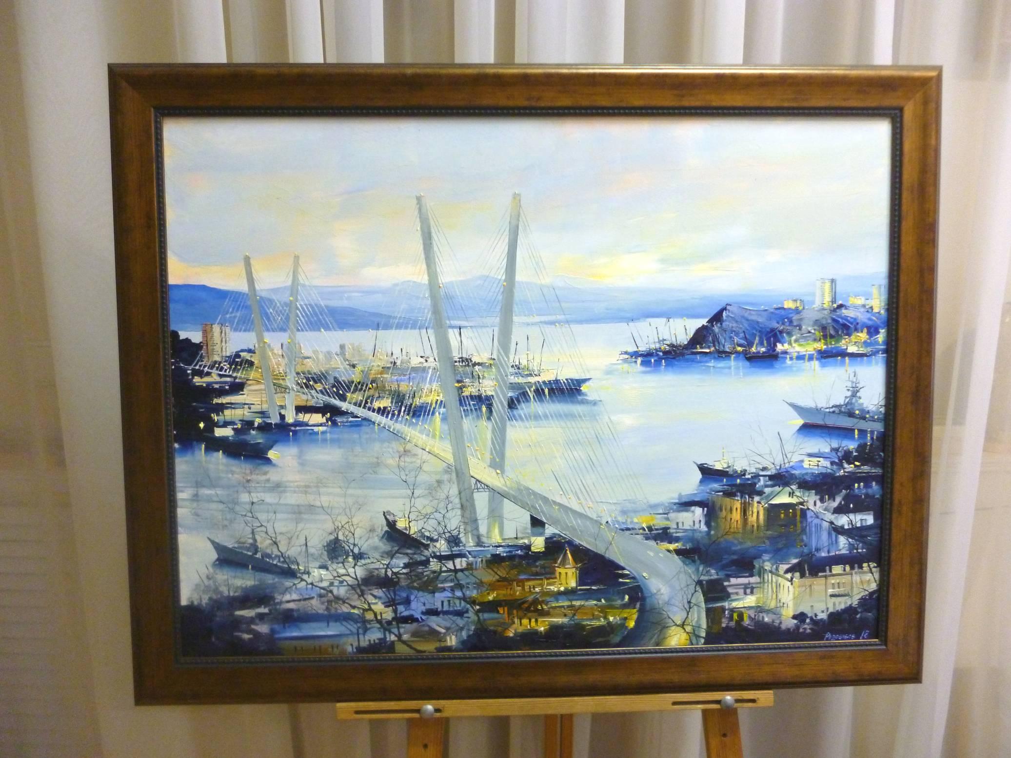 Редозубов Ю.Ю. «У Золотого моста», х/м, размер 60х80