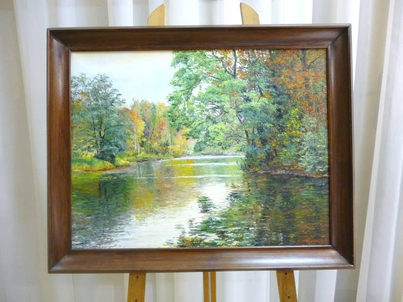 Чугунов А.И. «Осень. Павловск», 47х60