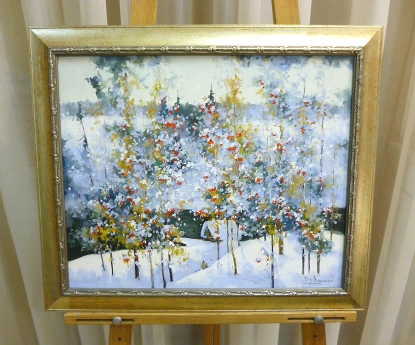 Косенко В.В. «Зимняя сказка», х/м, 39х47
