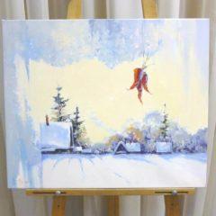 Косенко В.В. «Зима», х/м, 50х60