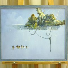 Косенко В.В. «Штиль», х/м, 40х50