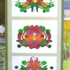 Е.Мельник «Цветочная», х/акрил, в оф. 105х51