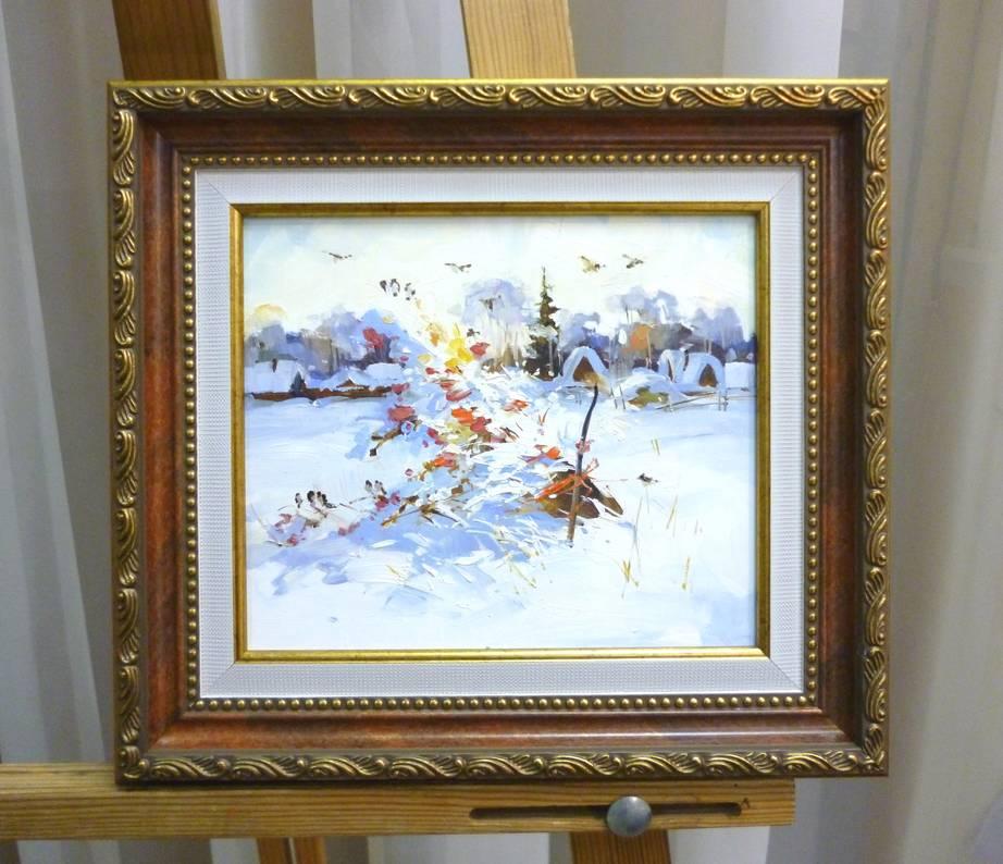 Косенко В.В. «Подарок», орг/м, 17х20