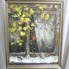 Косенко В.В. «Пришла зима», х/м, 63х52