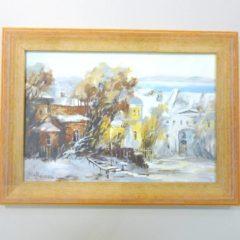 Косенко В.В.  «Соседняя улица», карт/м, 18х26