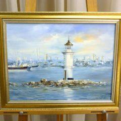 Редозубов Ю.Ю.  «Маяк. Владивосток», х/м, 31х42