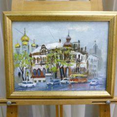 Помазенко А.Н. «Владивосток», х/м, 24х32