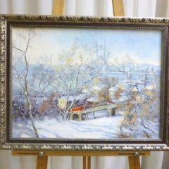 Косенко В.В.  «Теплый зимний день», х/м, 40х55