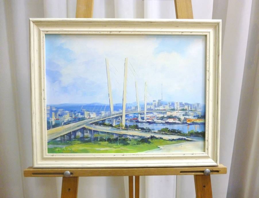Косенко В.В. «Мост», х/м, 30х40