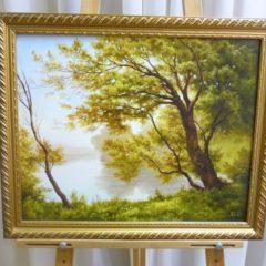 А.Чекин «Дерево», х/м, размер 40х50