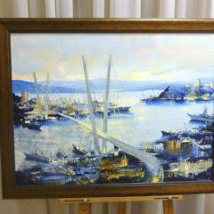 Рудозубов Ю.Ю. «У Золотого моста», х/м, размер 60х80