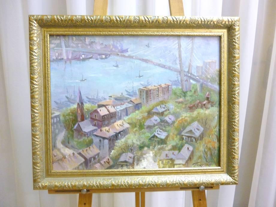 Помазенко А.Н. «Владивосток», х/м, 39х50