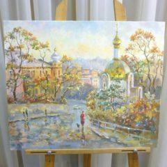 Кайдалов А.Г. «Осенний Владивосток», х/м, 50х60
