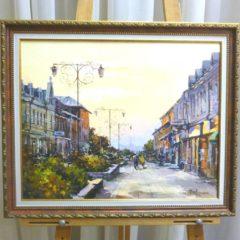 Косенко В.В. «Фонтанная», х/м, размер 40х50