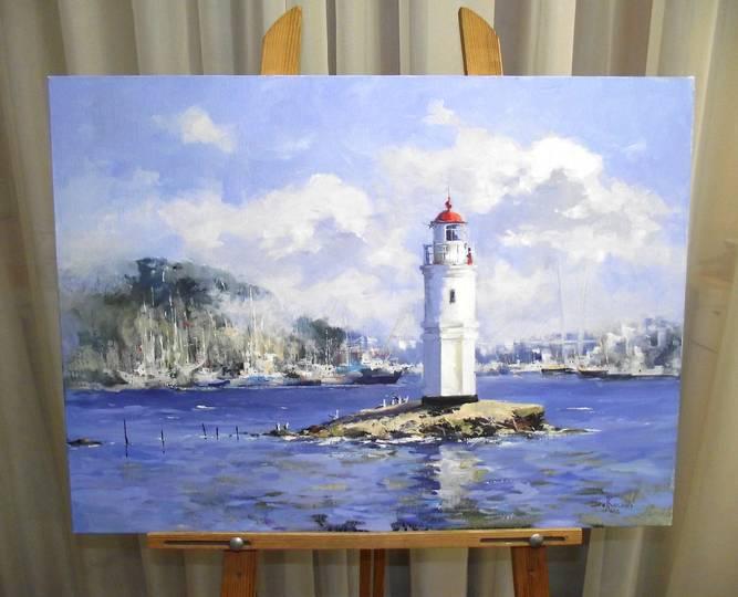 Косенко В.В. «Токаревский маяк», х/м, 50х70