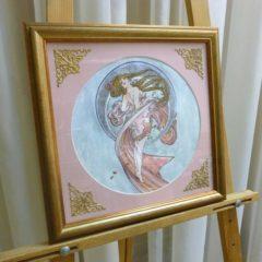 А.Евдакимова «Танец», бумакв, в оф. 34х35