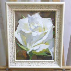 Д.Пестерева «Роза», хм, 30х25