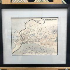 """Дичко """"Карта Владивостока 1914"""""""