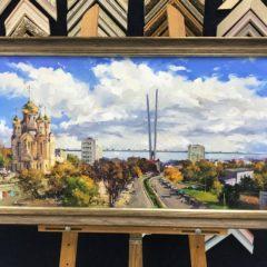 Косенко В.В. Город у моря 50х90