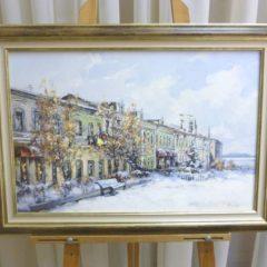 Косенко В.В. «Фонтанка зимой», хм, 40х60