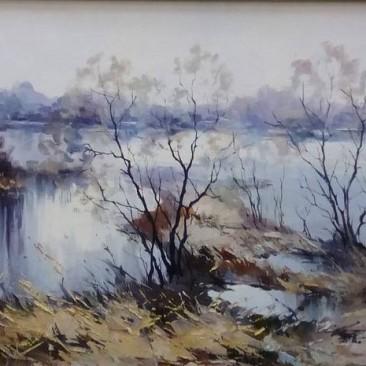 Косенко В.В. Разлив х.м. 37х57см