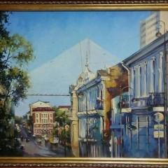 """Косенко В.В. """"Вечерний луч"""" х.м. 62х92см"""