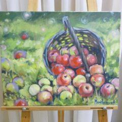 Л.Малёванная «Яблолки», хм, 50х70