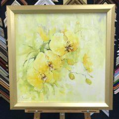 """Косенко В.В. """"Орхидеи"""" 67х70"""