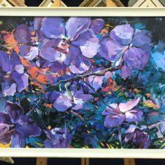 """Пестерева """"Орхидеи"""", 50х70"""