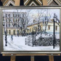 """Редозубов """"Снег на 1-ой Морской"""" 40х50"""