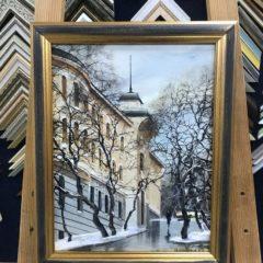 Редозубов, В сквере у дома Бриннера 25х30