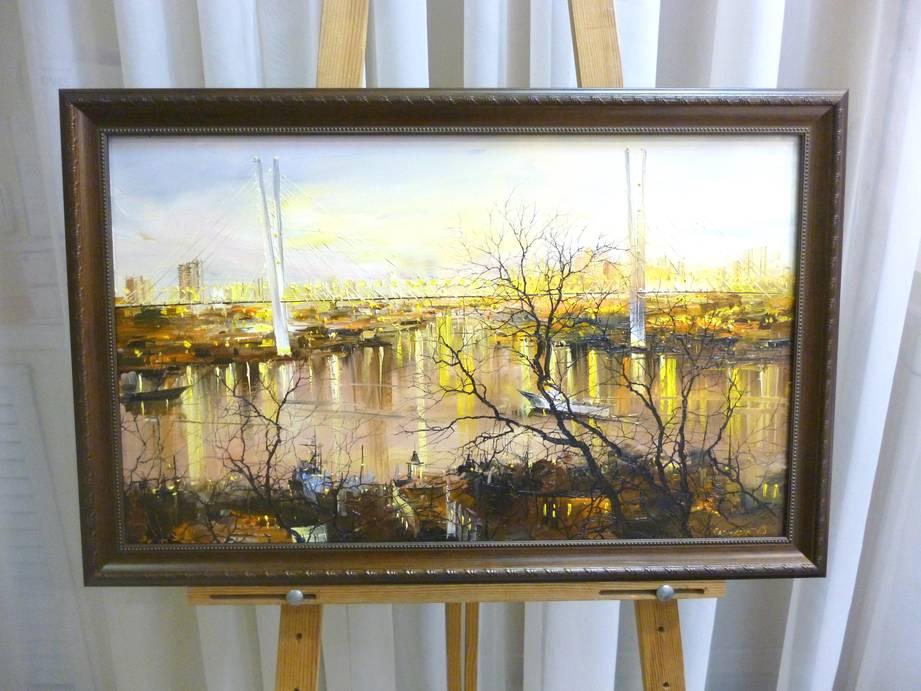 Редозубов Ю.Ю. «У Золотого моста», хм, 37х62