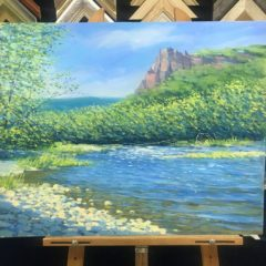 Семенушкин Река Водопадная