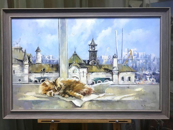 """Косенко В.В. """"Солнечный зайчик"""" 50х80"""