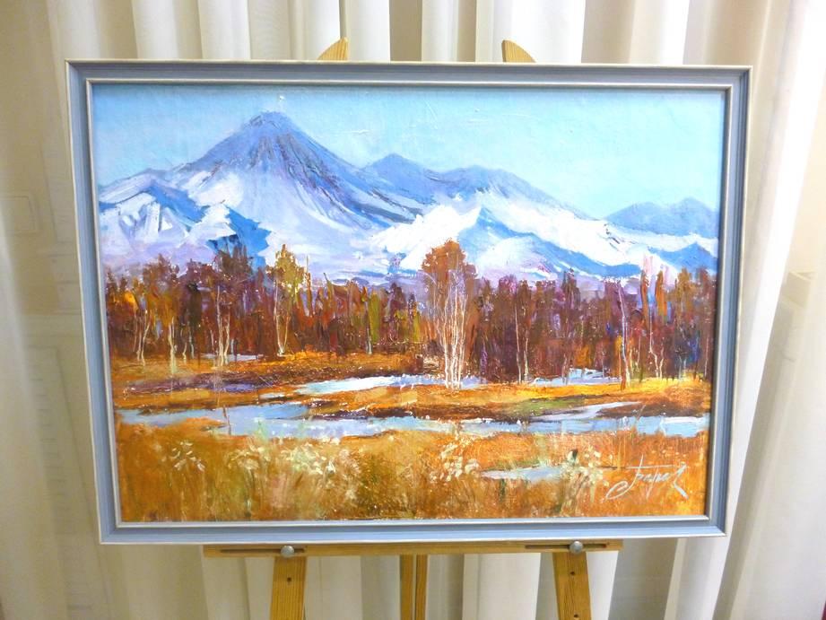 В.Березовский «Осенняя», хм, 50х70