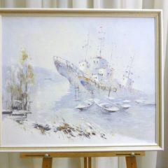 Косенко В.В. «Забытые морем», х/м,  53х63